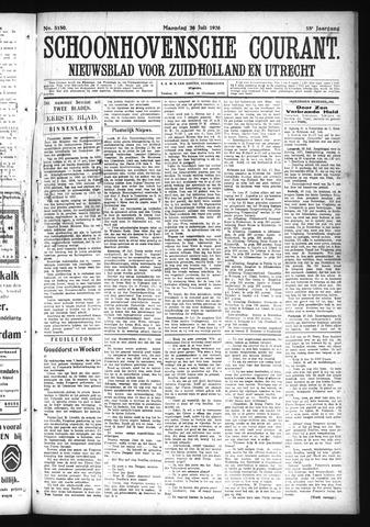 Schoonhovensche Courant 1926-07-26