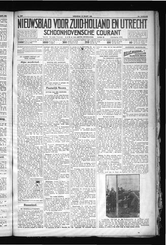 Schoonhovensche Courant 1930-03-12