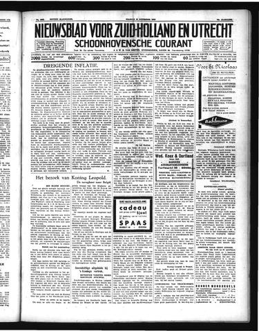 Schoonhovensche Courant 1938-11-25