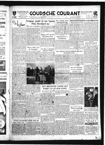 Goudsche Courant 1951-03-28