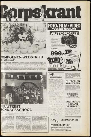 Dorpskrant 1987-10-07