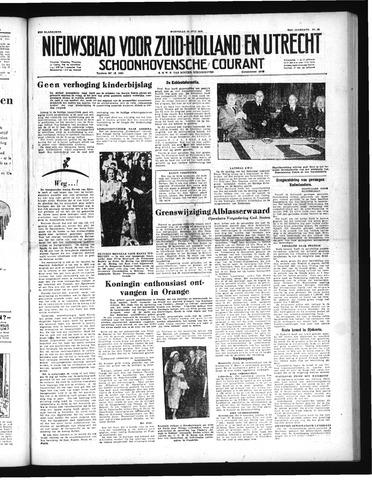 Schoonhovensche Courant 1952-07-30
