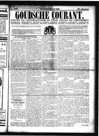Goudsche Courant 1926-07-28