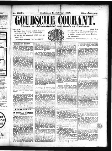 Goudsche Courant 1907-02-14