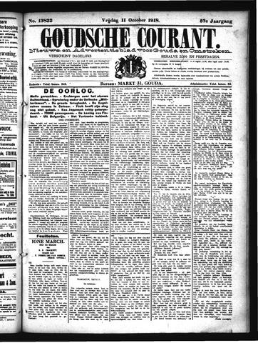 Goudsche Courant 1918-10-11