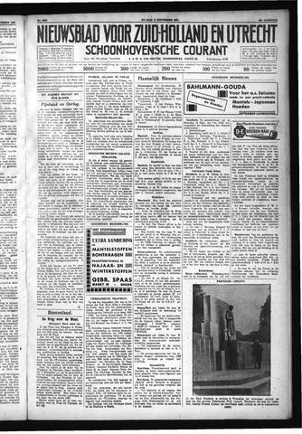 Schoonhovensche Courant 1931-09-11
