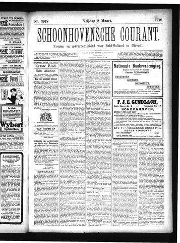 Schoonhovensche Courant 1918-03-08