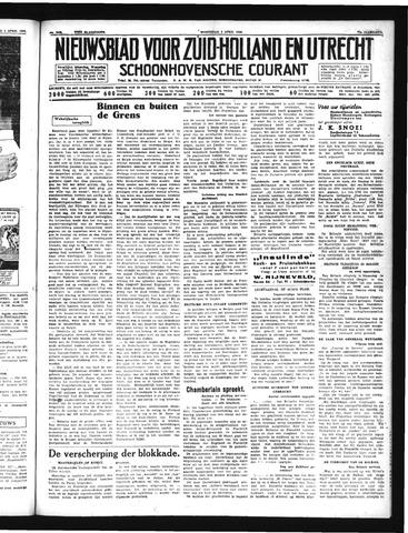 Schoonhovensche Courant 1940-04-03