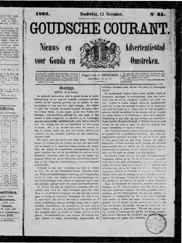 Goudsche Courant 1862-11-13
