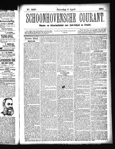 Schoonhovensche Courant 1904-04-09