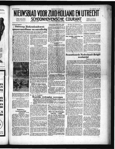 Schoonhovensche Courant 1951-11-26