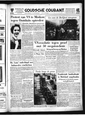 Goudsche Courant 1961-10-28