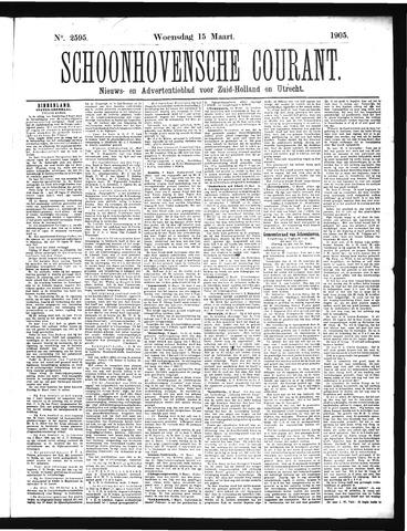 Schoonhovensche Courant 1905-03-15