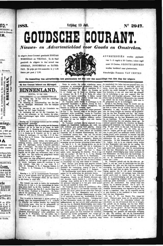 Goudsche Courant 1883-07-13