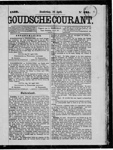 Goudsche Courant 1866-04-26