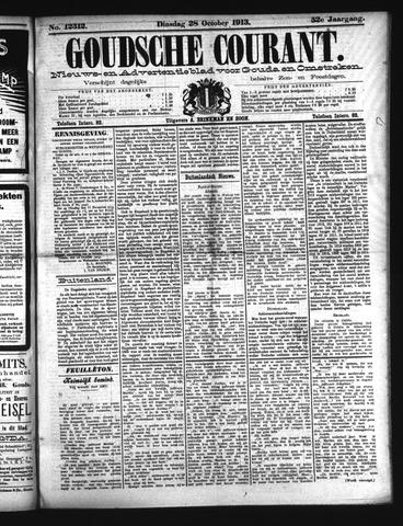 Goudsche Courant 1913-10-28