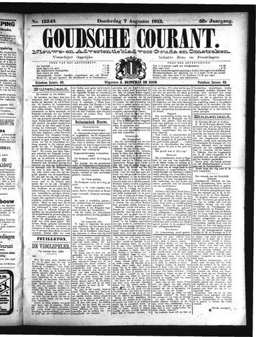 Goudsche Courant 1913-08-07