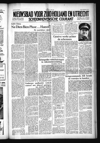 Schoonhovensche Courant 1954-05-17