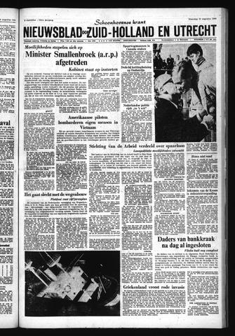 Schoonhovensche Courant 1966-08-29