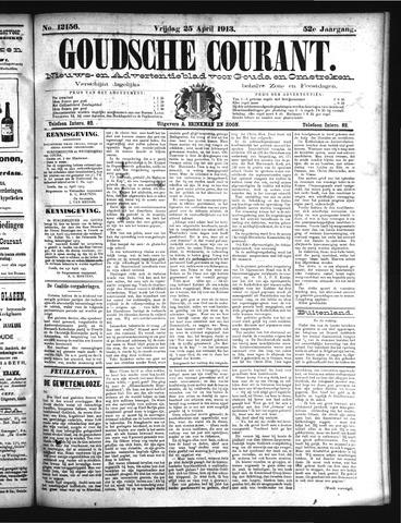 Goudsche Courant 1913-04-25