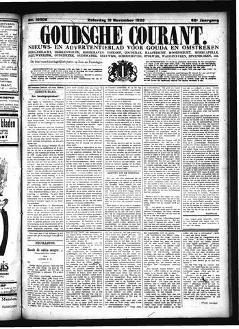 Goudsche Courant 1925-11-21