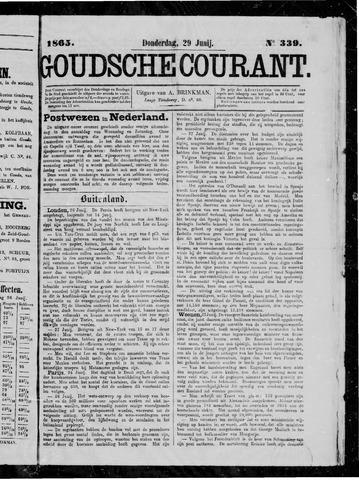 Goudsche Courant 1865-06-29