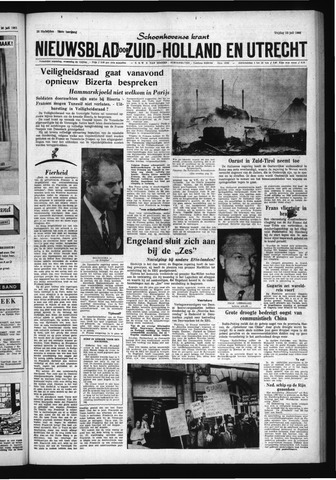Schoonhovensche Courant 1961-07-28