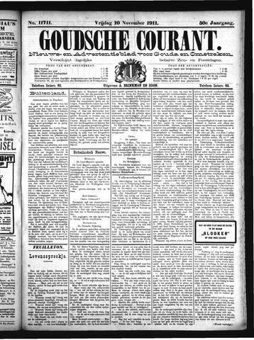 Goudsche Courant 1911-11-10