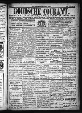 Goudsche Courant 1922-11-14