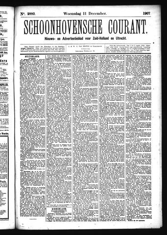 Schoonhovensche Courant 1907-12-11