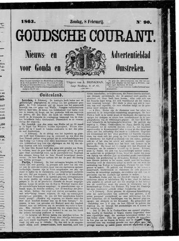 Goudsche Courant 1863-02-08