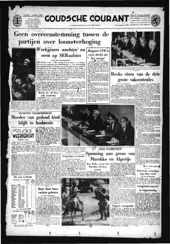 Goudsche Courant 1963-10-01