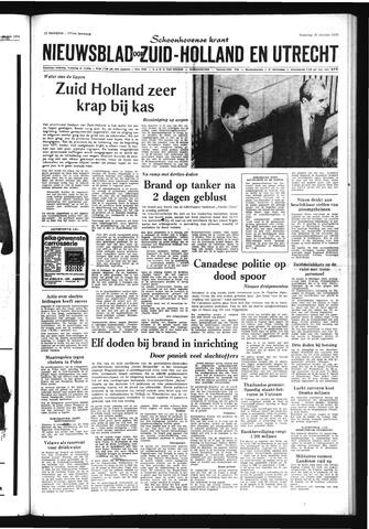 Schoonhovensche Courant 1970-10-26