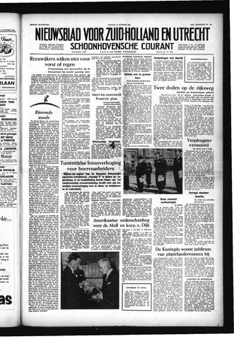 Schoonhovensche Courant 1955-10-14