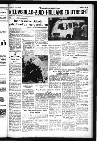 Schoonhovensche Courant 1962-05-18