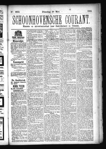 Schoonhovensche Courant 1915-05-18