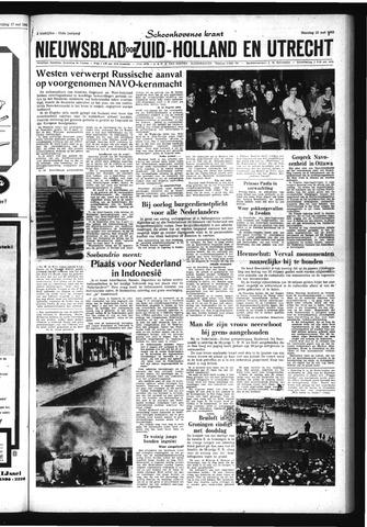 Schoonhovensche Courant 1963-05-20
