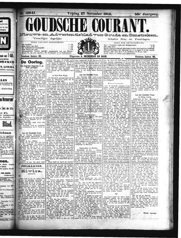 Goudsche Courant 1914-11-27