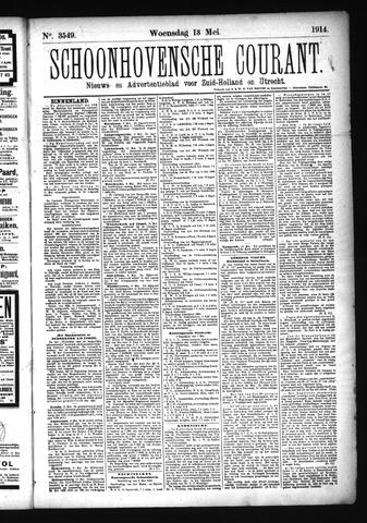 Schoonhovensche Courant 1914-05-13