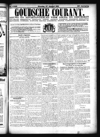 Goudsche Courant 1931-01-27