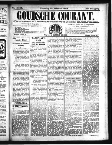 Goudsche Courant 1913-02-22