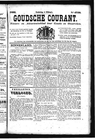 Goudsche Courant 1892-02-04