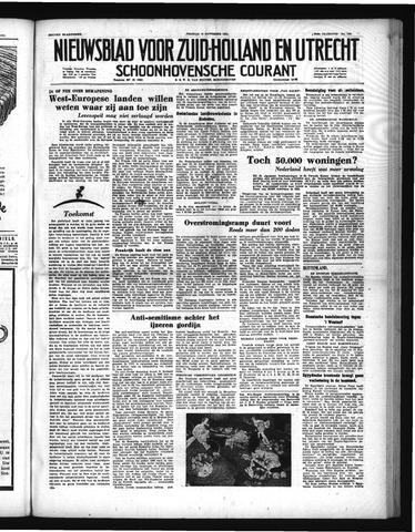 Schoonhovensche Courant 1951-11-16