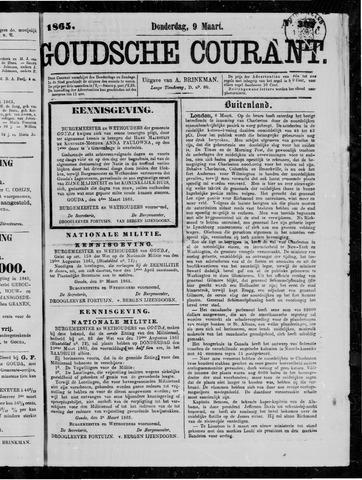 Goudsche Courant 1865-03-09