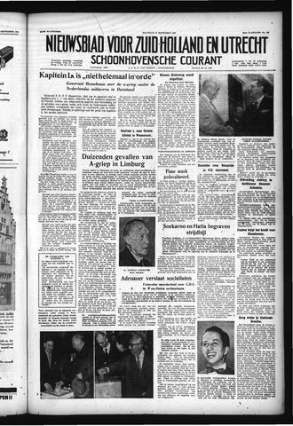 Schoonhovensche Courant 1957-09-16