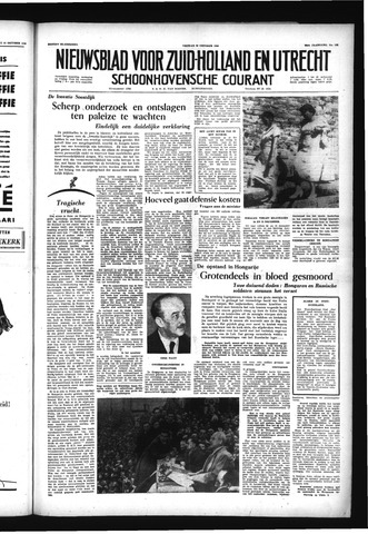 Schoonhovensche Courant 1956-10-26
