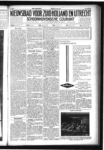 Schoonhovensche Courant 1933-05-24