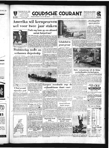 Goudsche Courant 1958-10-30