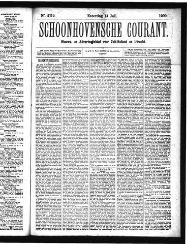 Schoonhovensche Courant 1900-07-14