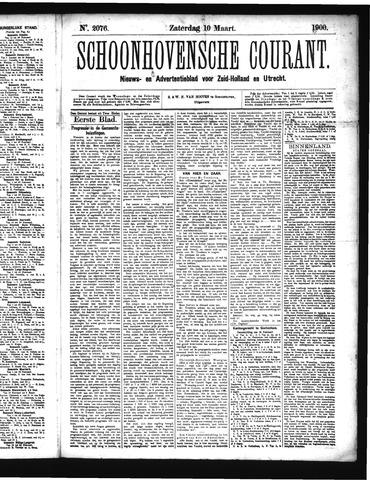 Schoonhovensche Courant 1900-03-10